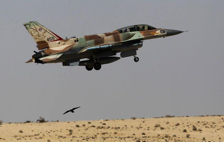 F-16  de la Fuerza Aérea israelí. GENTILEZA