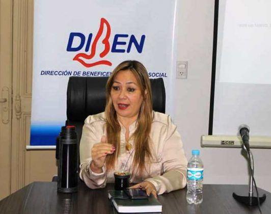 Lic. Carmen Alonso, Directora General de DIBEN