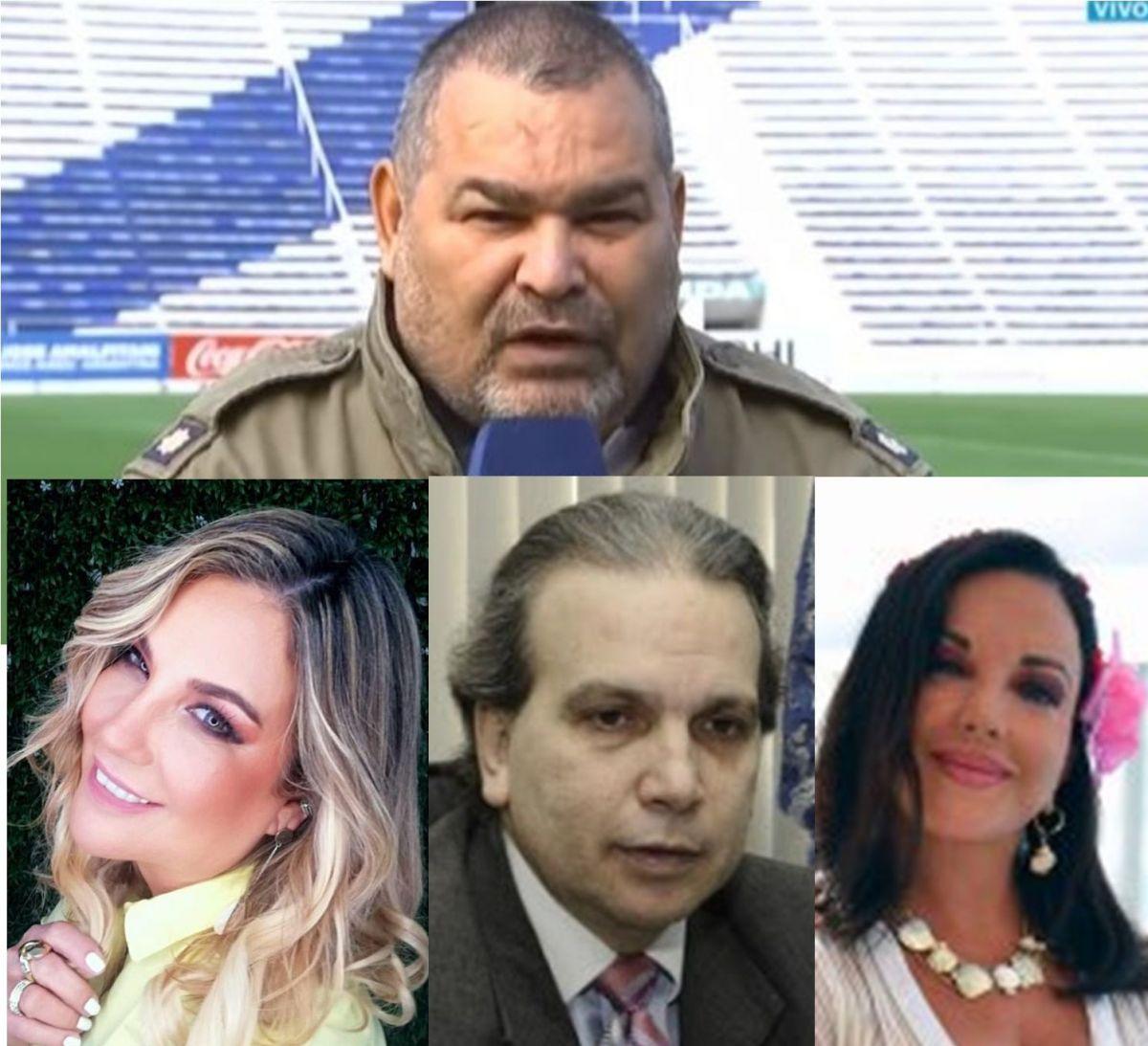 Chila se cruzó en twitter con Bibi, Delgado y Zuni. GENTILEZA
