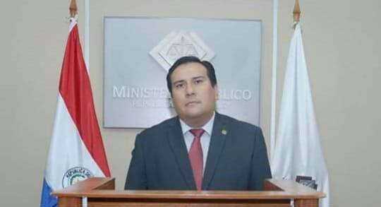 Fiscal Edgar Benítez.