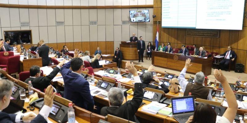 Sesión Cámara de Senadores